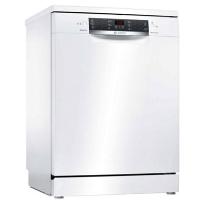 Bosch SMS46IW09G Freestanding Dishwasher with 13 Place Settings in White