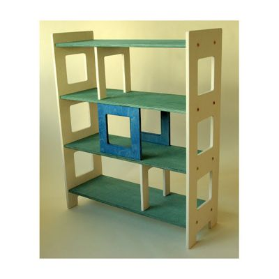 Radis City Shelf - Blue / Green