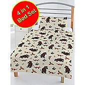 The Gruffalo 4 In 1 Junior Toddler Bedding Bundle (Duvet, Pillow And Covers)