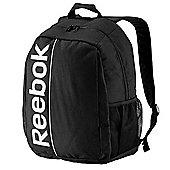 Reebok Sport Royal Backpack Rucksack Bag Black