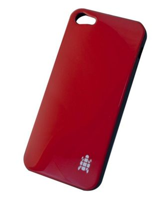Tortoise™ Soft Gel Case iPhone 5 Gloss Red