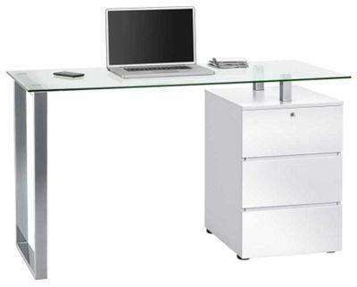 Maja 9550 White Computer Desk