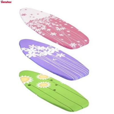 Metaltex Program Stiroline Spring Garden Ironing Board Cover, 140cm x 55cm
