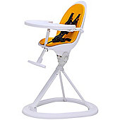 ickle bubba Orb Highchair (White/Yellow)
