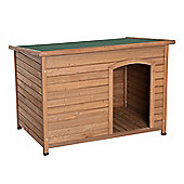 PawHut Waterproof Hinged Roof Pet Kennel Elevated Dog House (116L x 79W x 82H cm)