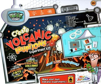 Create Your Own Volcanic Eruptions Set