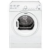 Hotpoint Aquarius Vented Tumble Dryer, TVFS 73B GP - White