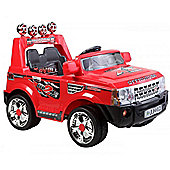 12V Twin Motor Range Rover Style Ride on Jeep Red