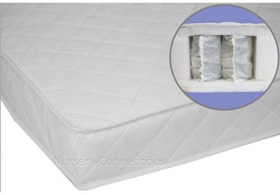 Pocket Spring Interior 120x60cm Cot Mattress