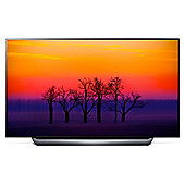 """LG OLED55C8PLA 55"""" Smart Built in Wi-Fi UHD 2160P OLED TV with Freeview HD Black"""