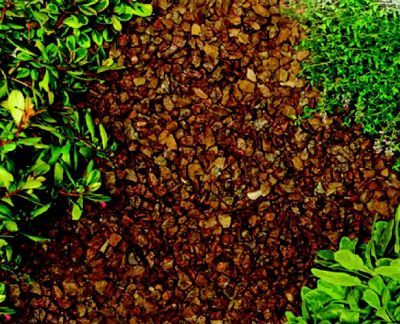 THE REAL GRAVEL COMPANY ROSE GRANITE CHIPPINGS