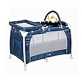 Babylo Siesta 3 in 1 Travel Cot (Navy Classic)