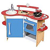 Melissa & Doug 13950 The Cook's Wooden Corner Play Kitchen