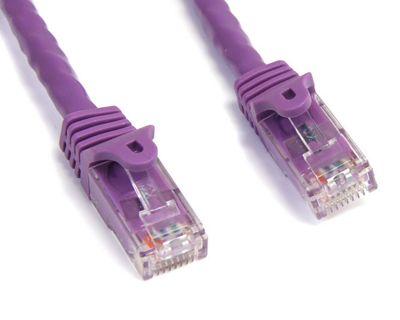 StarTech Purple Snagless Cat6 UTP Patch Cable - ETL Verified (4.57m)