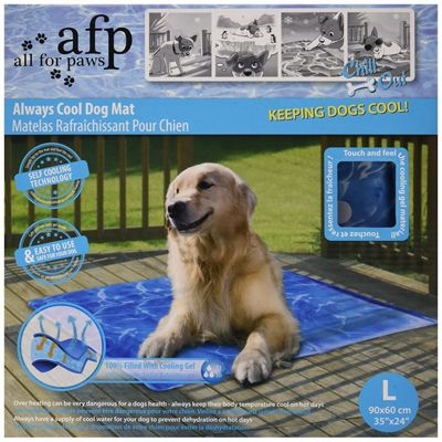 Chill out Cool Dog Mat Large