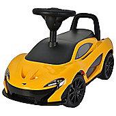 Children's McLaren P1 Ride-On Car Toy - Yellow
