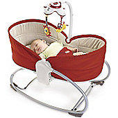 Tiny Love 3-In-1 Red Rocker Napper Baby Bouncer