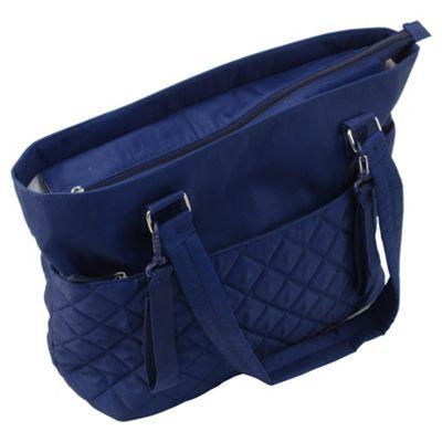 Summer Infant Changing Bag Quilt Tote Blue