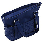 Summer Infant Changing Bag Quilt Tote Blue