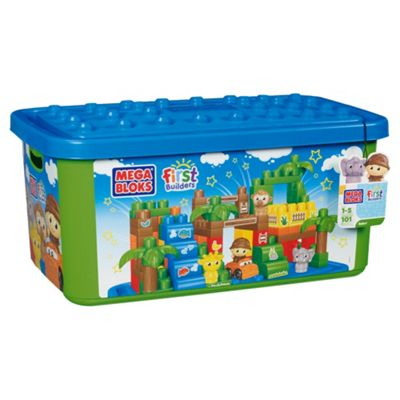 Mega Bloks First Builders Safari Tub