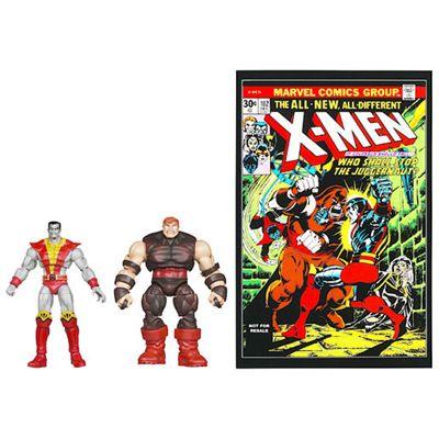 Marvel Universe X-Men Comic Pack - Colossus and Juggernaut Figures