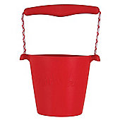 Scrunch Bucket (Red) - Sand and Beach Toys