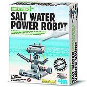 Great Gizmos 4M Green Science Salt Water Power Robot