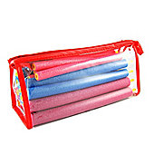 EPE Dimples Softsitck Bendy Hair Rollers, Pack of 17 in carry case