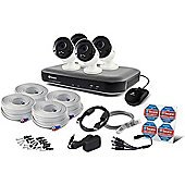 Swann SWDVK-849804 Heat-Sensing 8 Channel 2TB 5MP CCTV Kit with 4 Cameras