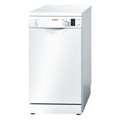 Bosch SP40E12G A+ Freestanding 450mm Dishwasher with 4 Programmes in White