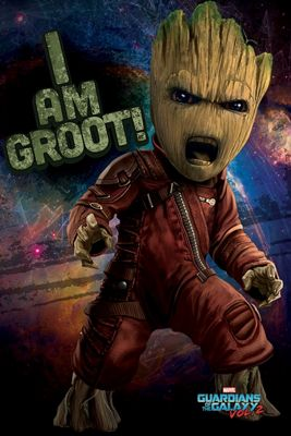 Guardians Of The Galaxy Vol.2 Angry Groot Poster 61x91.5cm