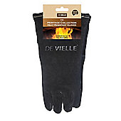 De Vielle Heritage Leather Stove Gloves