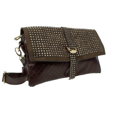 Acess Diamante Trim Clutch Bag