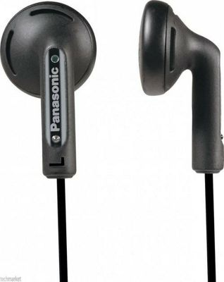 Panasonic RP-HV094E-K In-Ear Stereo Earphones Headphones
