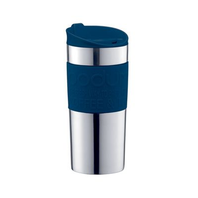 Bodum Stainless Steel Travel Mug Navy