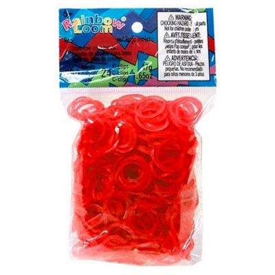 Rainbow Loom Red Jelly Bands - Arts and Crafts