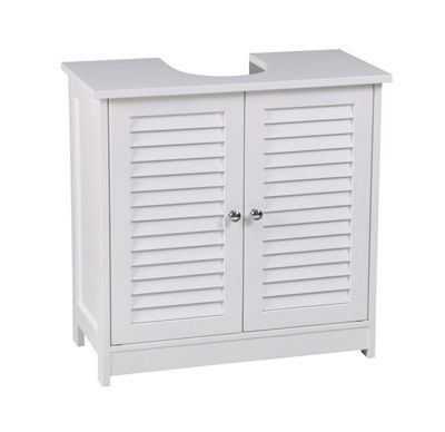 Bathroom Storage Under Sink Cabinet - White