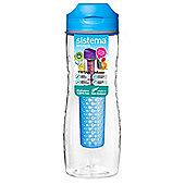 Sistema Tritan Fruit Infuser Bottle 800ml Blue