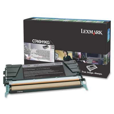 Lexmark C746H1KG High Yield Toner Cartridge - Black