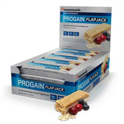 Progain Flapjack Bar 12x90g Mixed Berry