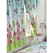 Princess Is Sleeping Lined Curtains 72""