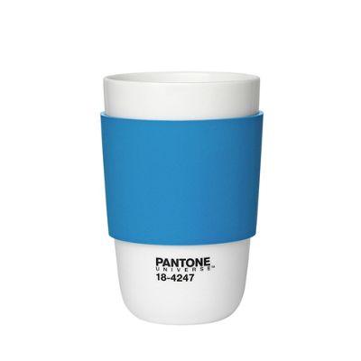 Pantone Cup Classic Porcelain, Brilliant Blue 18-4247