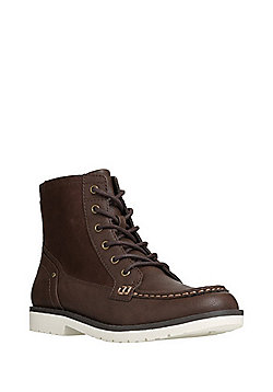 F&F Apront Front Boots - Brown