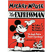 Disney Mickey Mouse The Expressman Canvas Print Wall Art