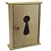 Key - Solid Wood Key Tidy Cupboard - Natural