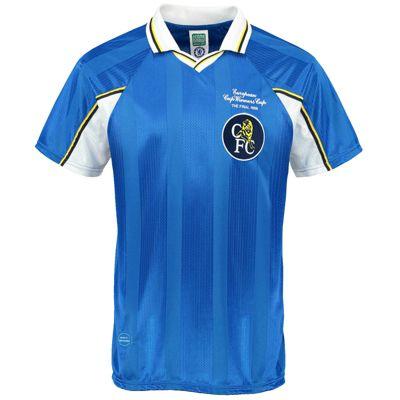 Chelsea FC Mens 1998 ECWC Final Shirt Small