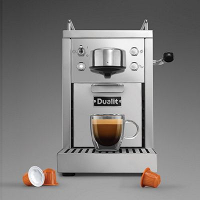 Dualit CLASSIC CAPSULE MACHINE 20 BAR STAINLESS STL