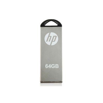 HP V220W 64 GB USB Flash Drive - Solid Metal