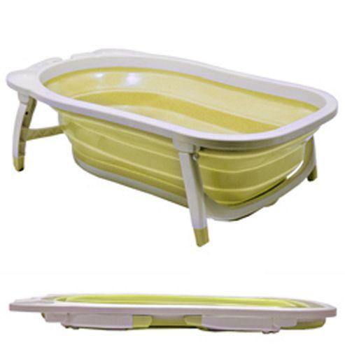 buy splashy plastic folding baby bath white lemon from our bath tubs range tesco. Black Bedroom Furniture Sets. Home Design Ideas