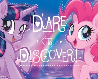 My Little Pony Movie Dare to Discover Mini Poster 40 x 50cm